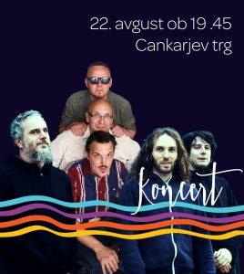 3TONE, MIHA ERIČ, FESTIVAL PISANA LOKA, KONCERT, Ottone Pesante, Jadranov koncert Pri rdeči ostrigi, Cankarjev Trg, blues, rock, ska, jazz, brass